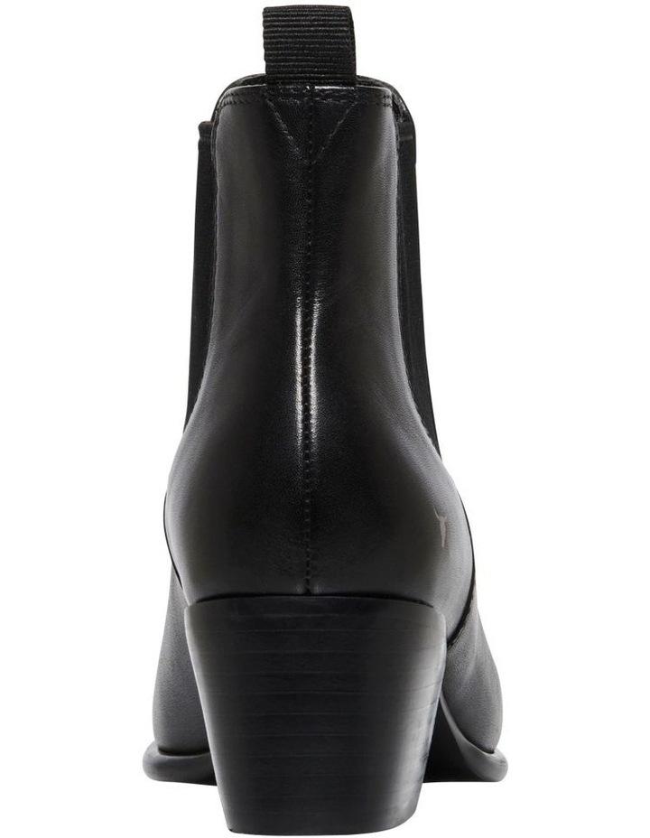 Carmen Black Heeled Ankle Boot image 3