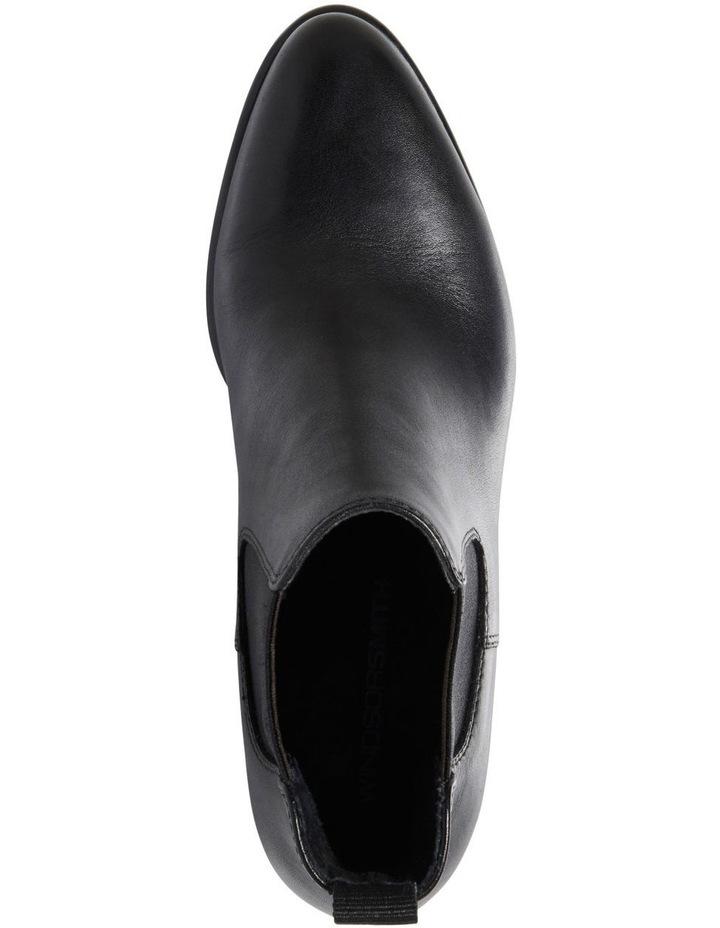 Carmen Black Heeled Ankle Boot image 5