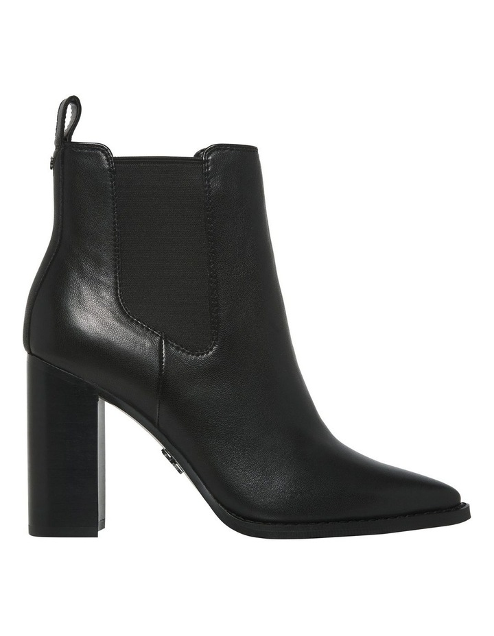 Lucia Black Leather Boot image 1