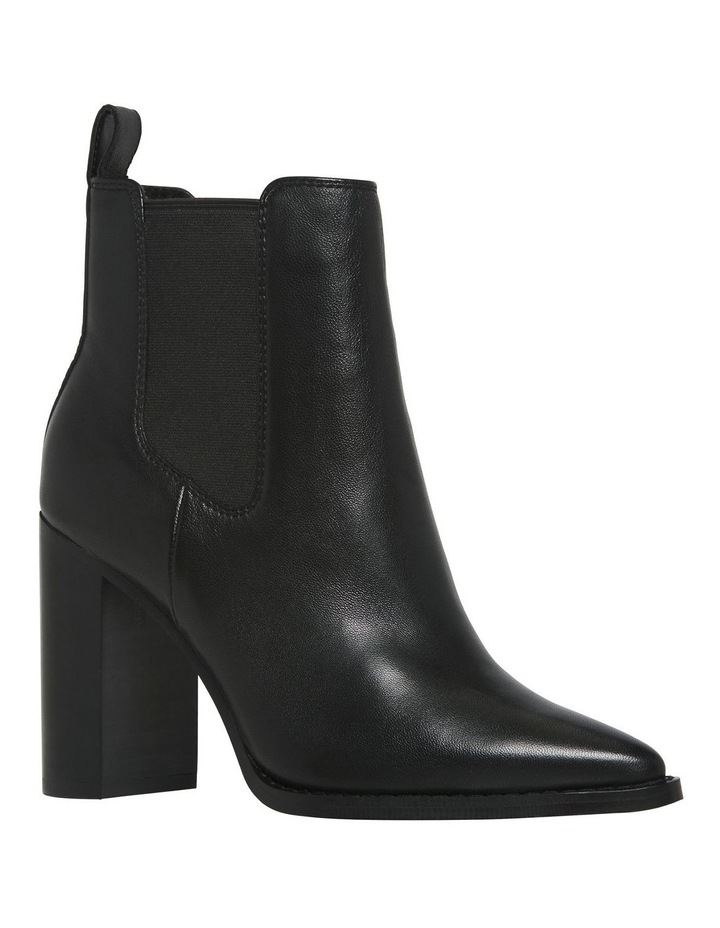 Lucia Black Leather Boot image 2
