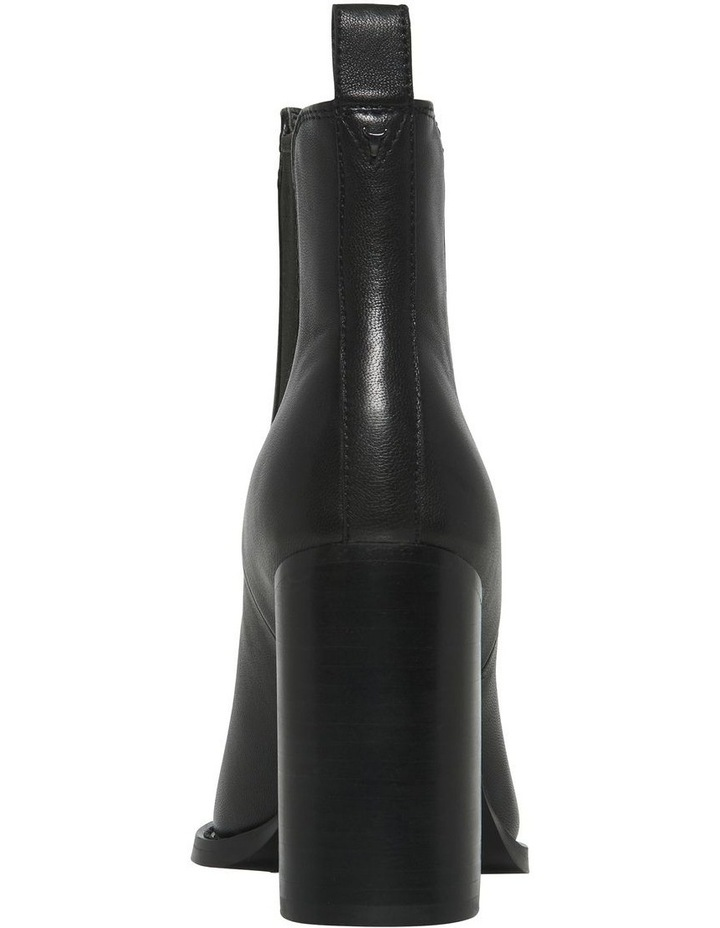 Lucia Black Leather Boot image 3