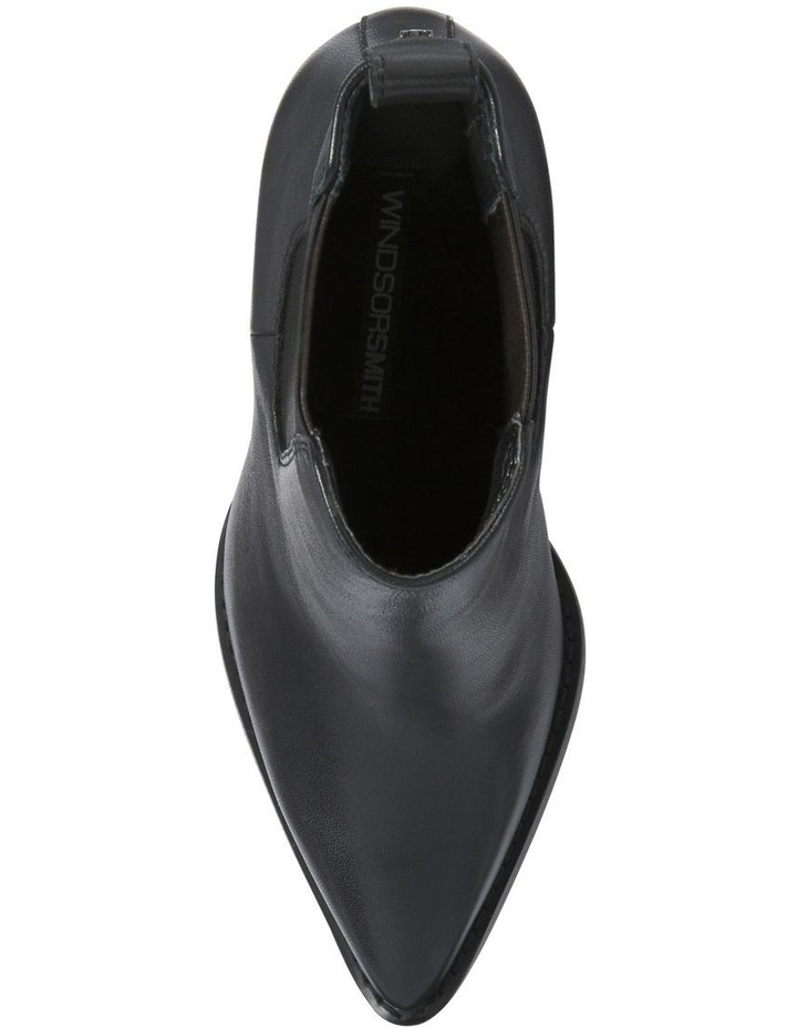 Lucia Black Leather Boot image 5