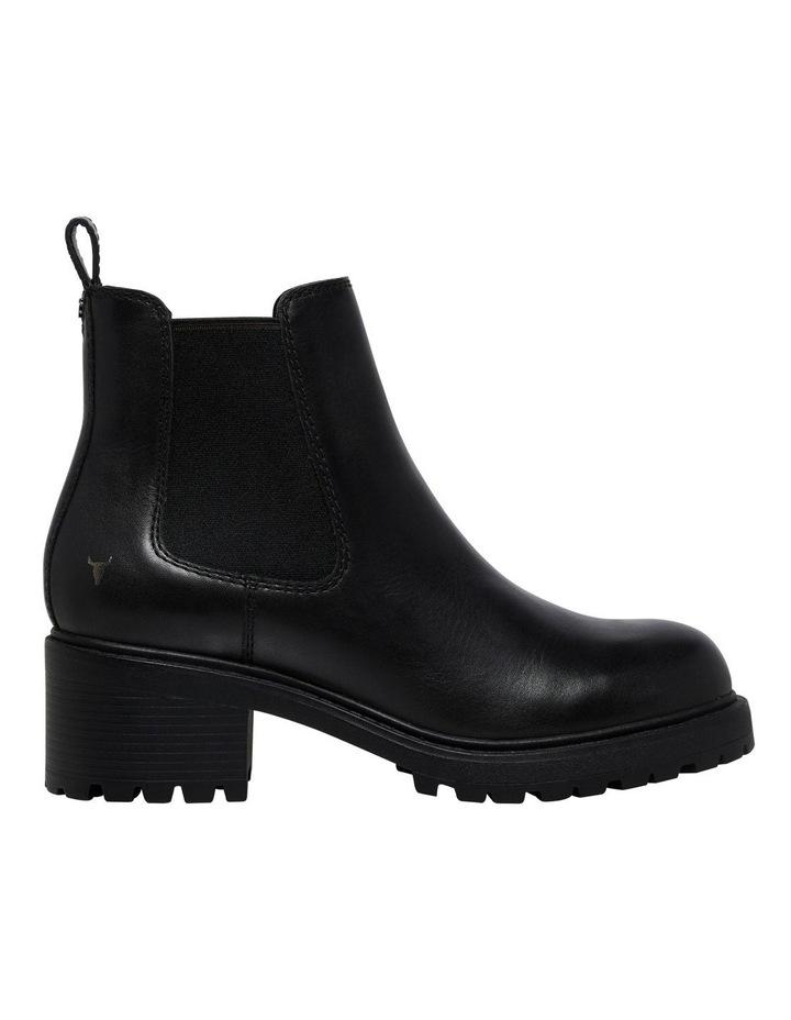 Thrills Black Leather Boot image 1