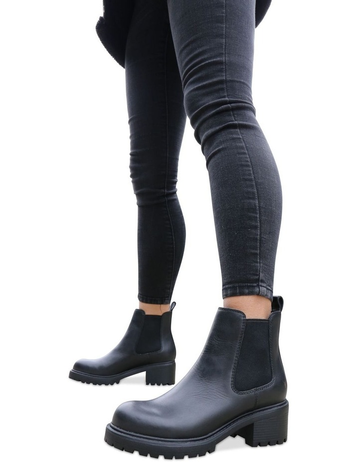 Thrills Black Leather Boot image 2
