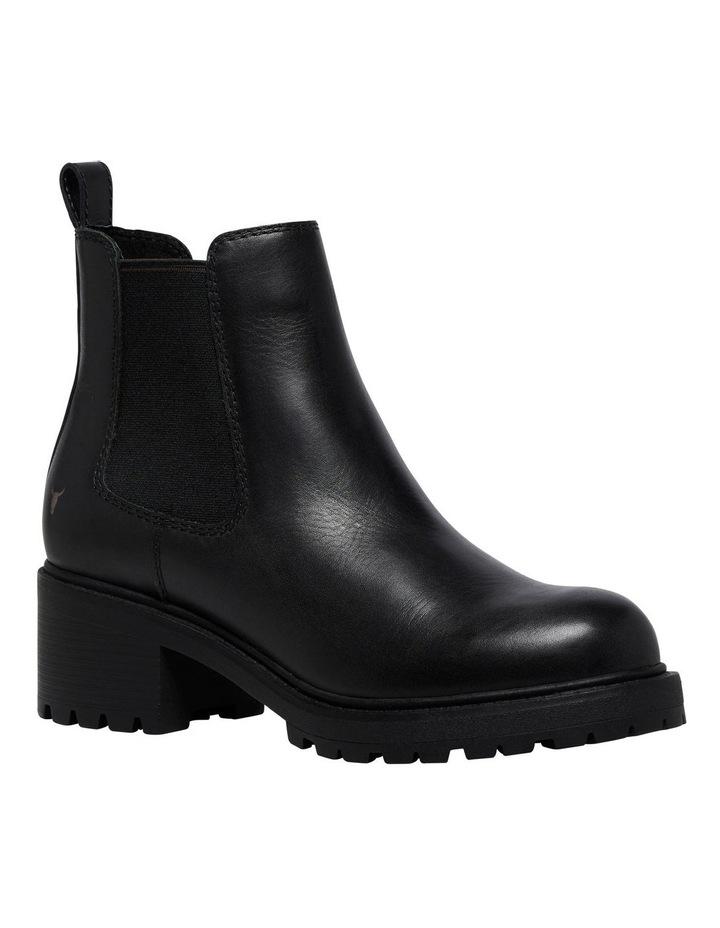 Thrills Black Leather Boot image 4