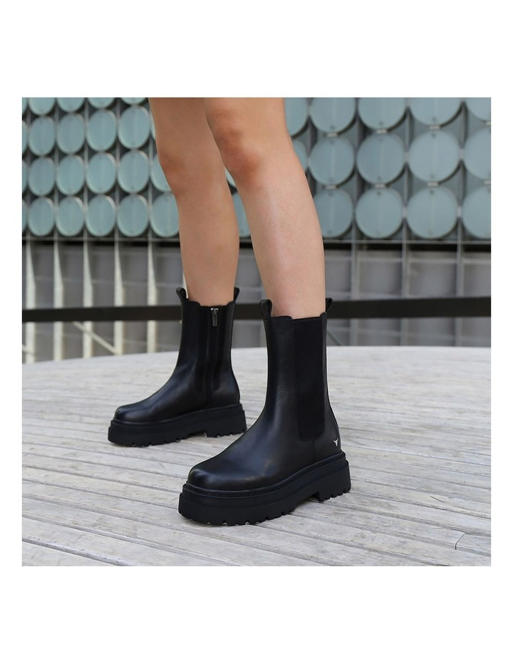 Privacy Black Boot image 2
