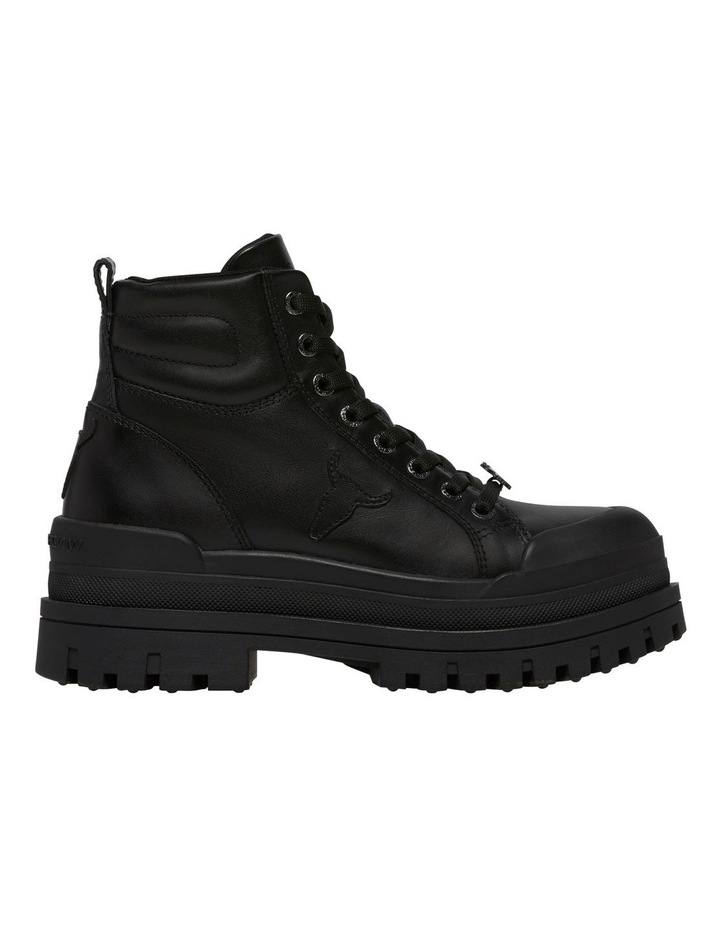 Disaster Black Leather Boot image 1