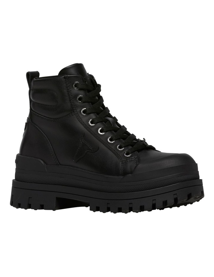 Disaster Black Leather Boot image 2