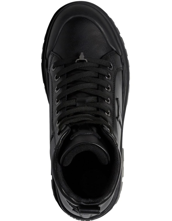 Disaster Black Leather Boot image 3