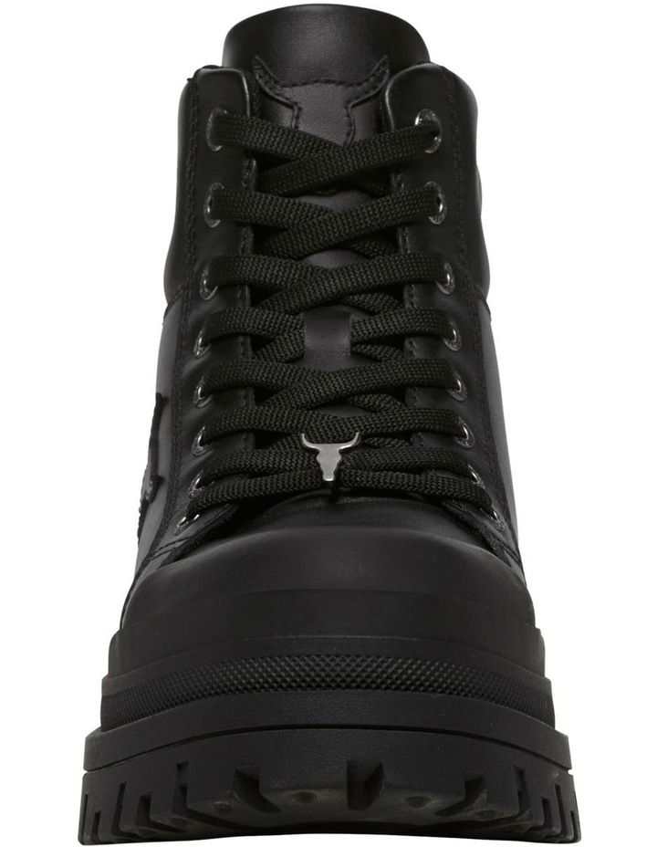 Disaster Black Leather Boot image 4
