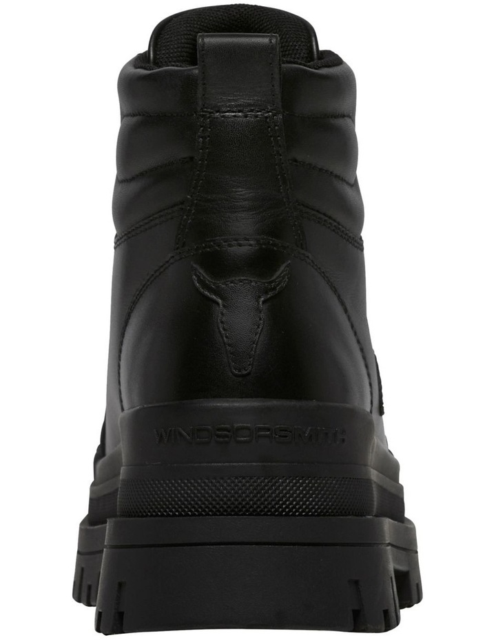 Disaster Black Leather Boot image 5
