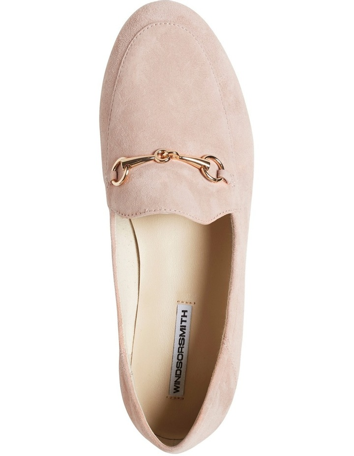 Dani Rosewood Suede Loafer image 3