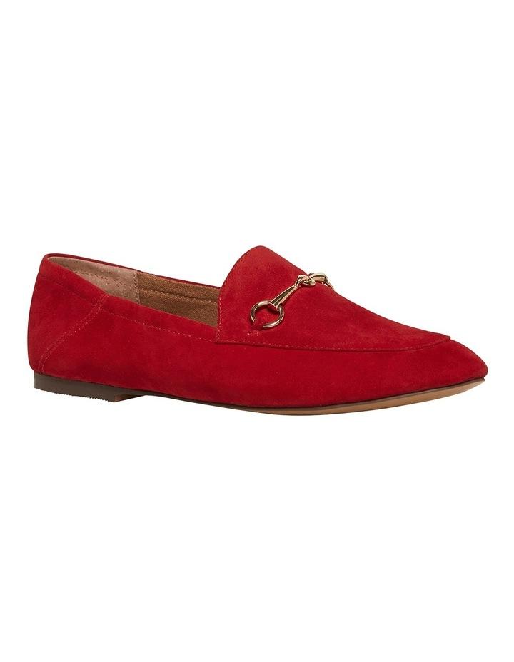 Dani Crimson Red Suede Loafer image 2