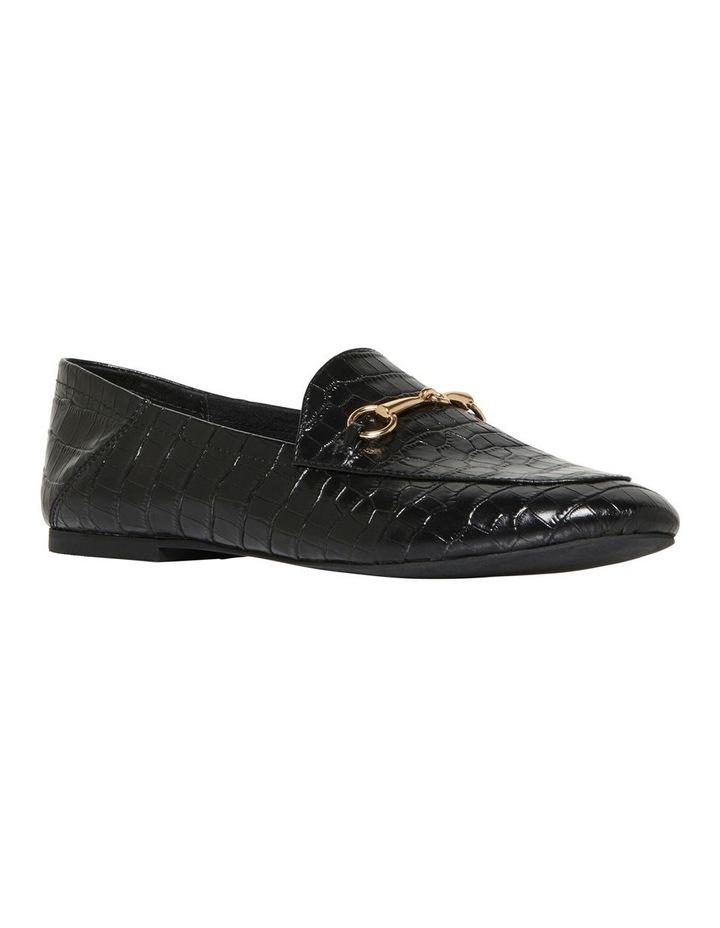 Dani Black Croc Print Leather Loafer image 2