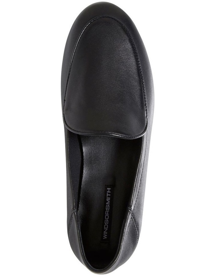 Dellan Black Flat Shoes image 4