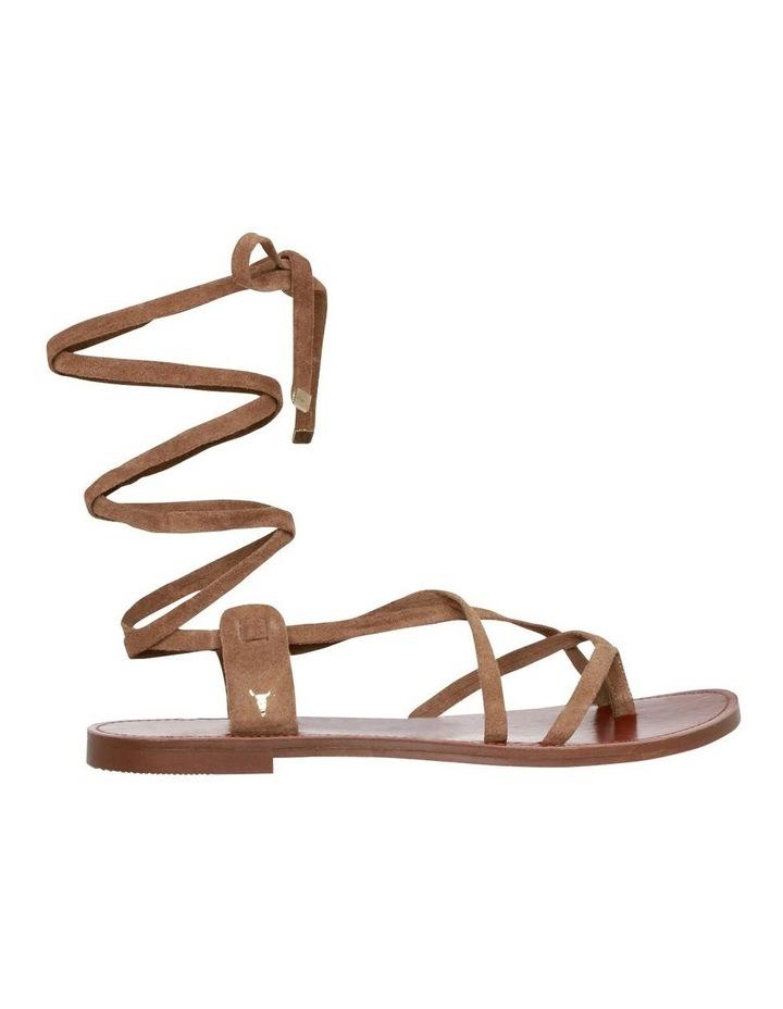Bizz Tan Suede Sandal image 1