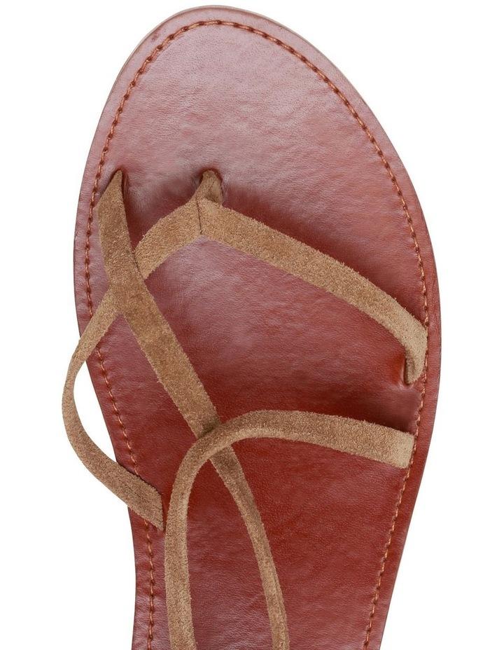 Bizz Tan Suede Sandal image 4