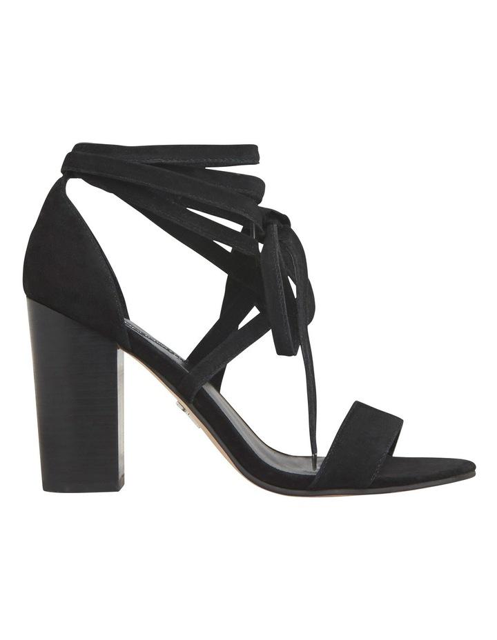 Niki Black Suede Sandal image 1