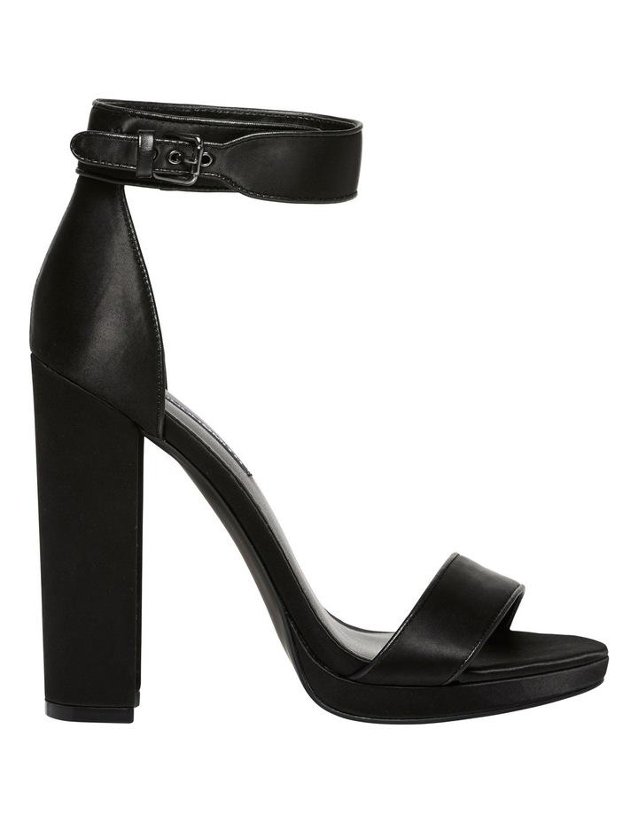 Rianne Black Satin Sandal image 1