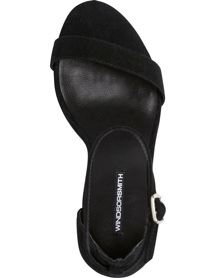 Indie Black Suede Sandal image 6