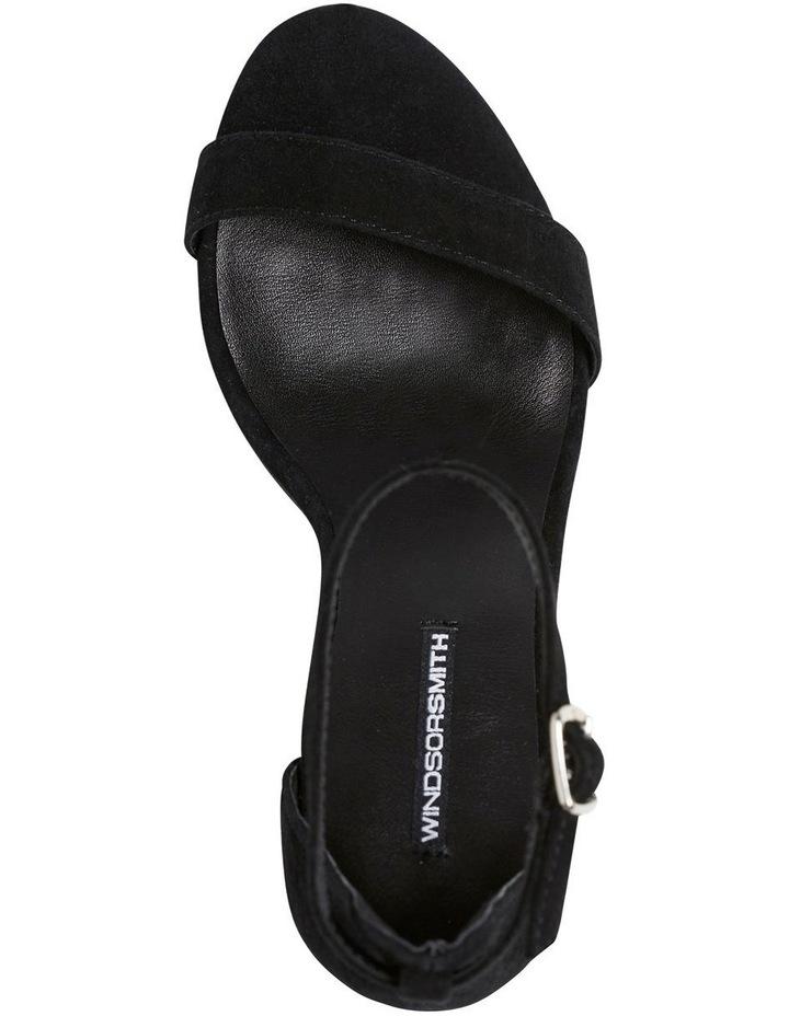 Indie Black Suede Sandal image 5