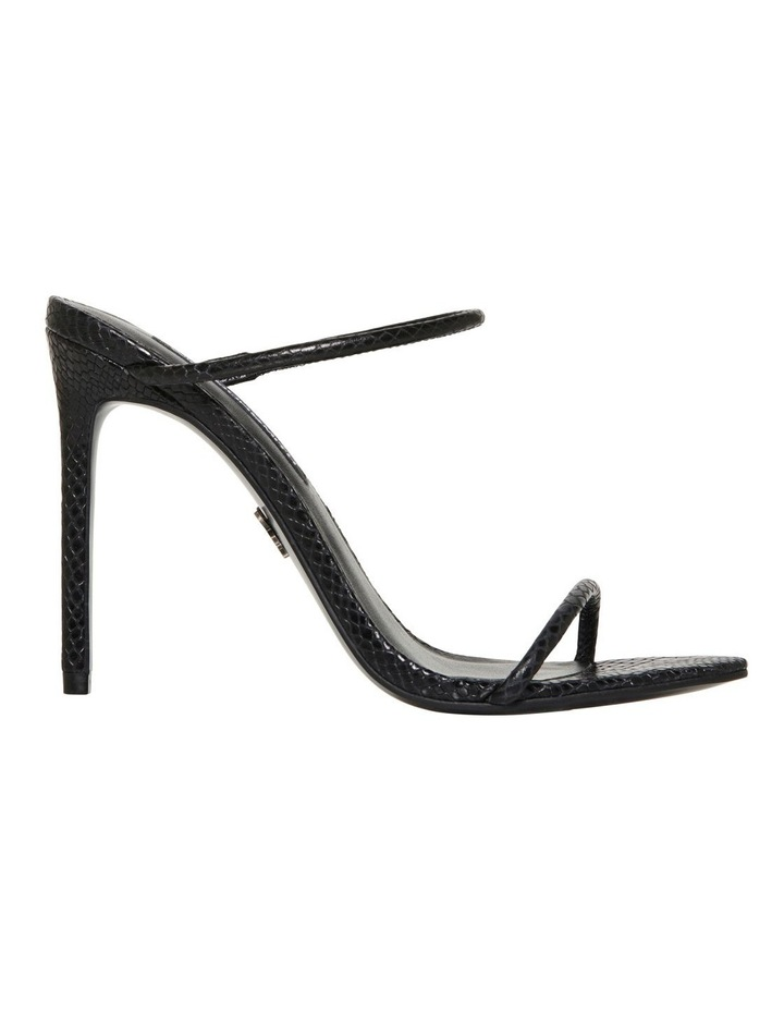 Portofino Black Snake Print Sandal image 1