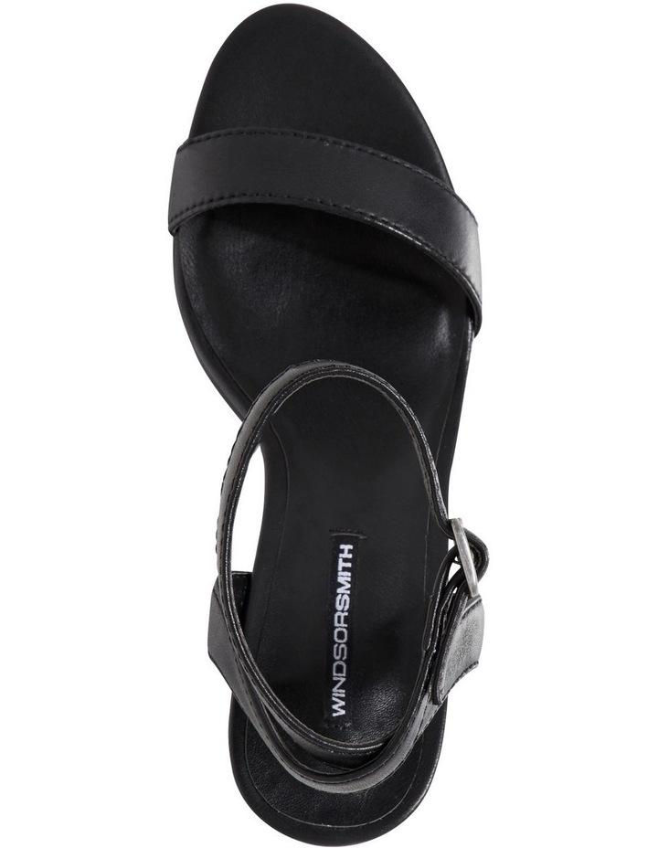 Lavish Black Sandal image 3