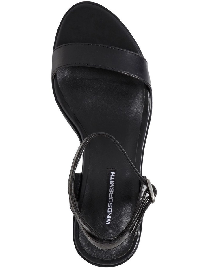 Lavendar Black Sandal image 3
