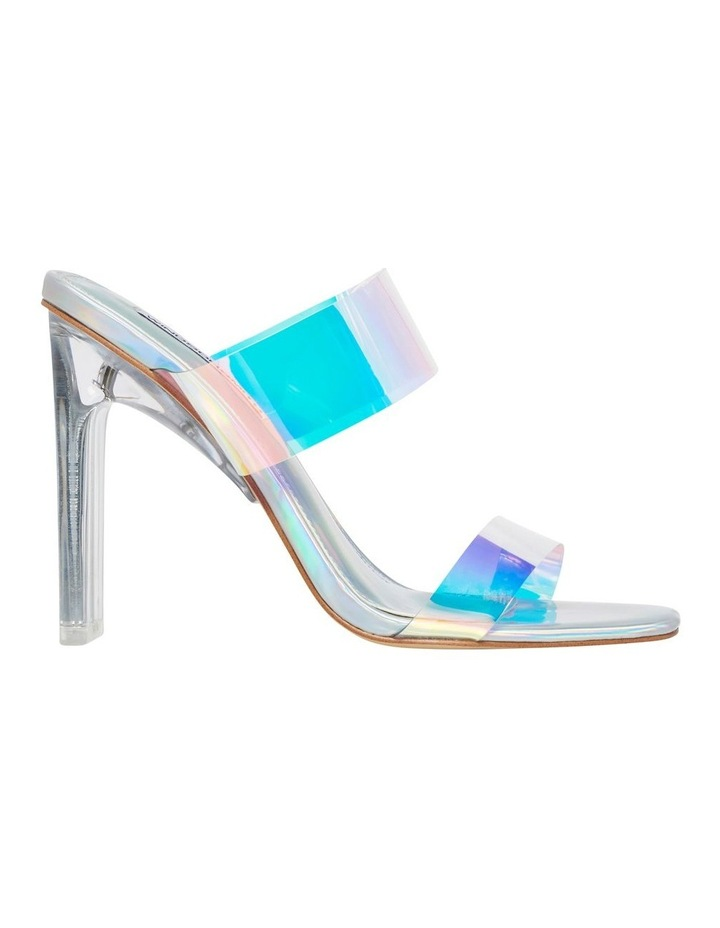 Flossy Silver Holographic Sandal image 1