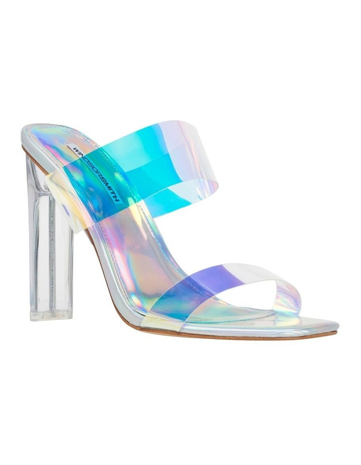 Flossy Silver Holographic Sandal image 2