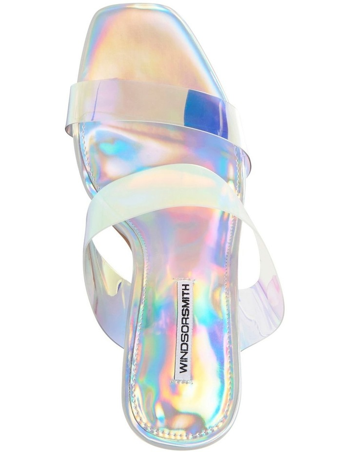 Flossy Silver Holographic Sandal image 5