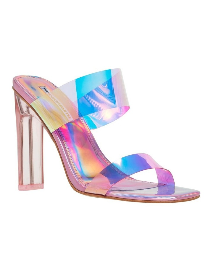 Flossy Pink Holographic Sandal image 2