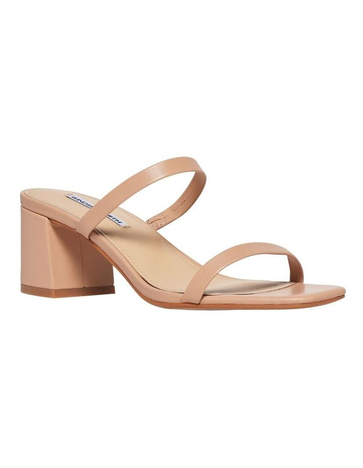 Jeanne Nude Leather Sandal image 2