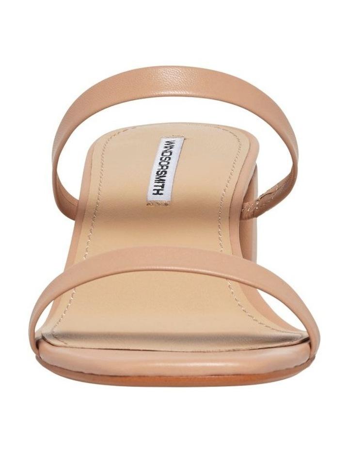 Jeanne Nude Leather Sandal image 4