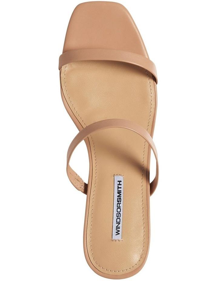Jeanne Nude Leather Sandal image 5