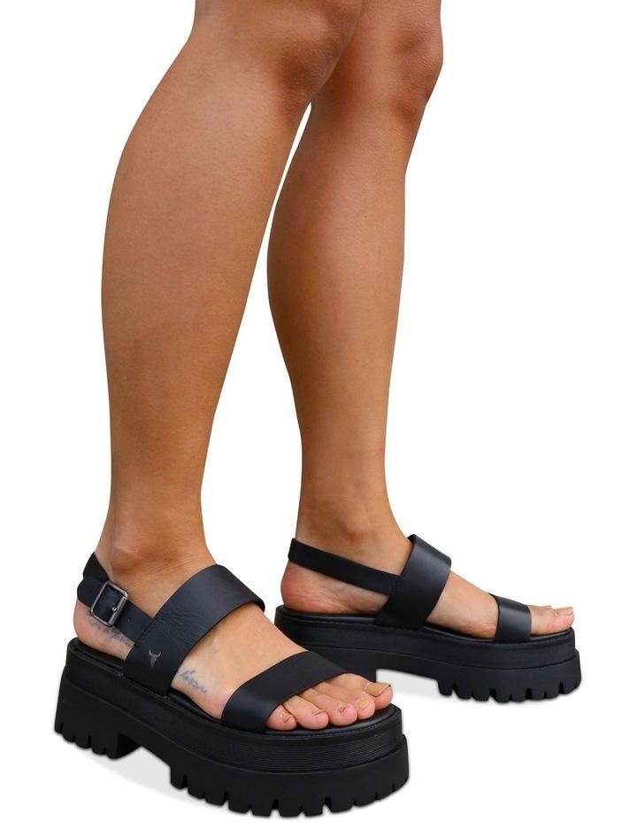 Tasty Black Sandal image 2
