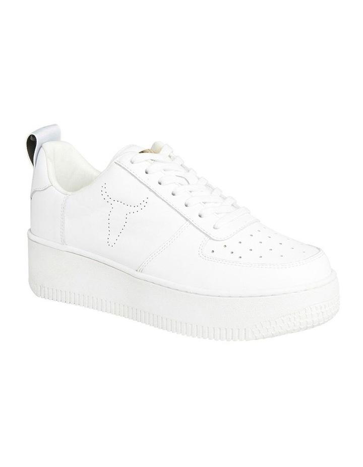 Racerr White Sneaker image 2