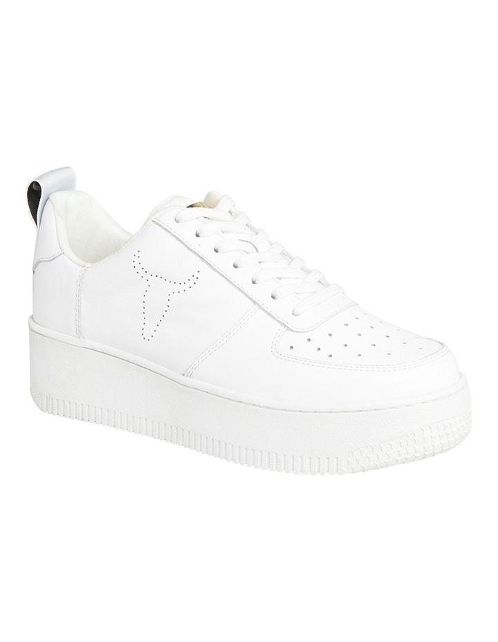 Racerr White Sneaker image 3