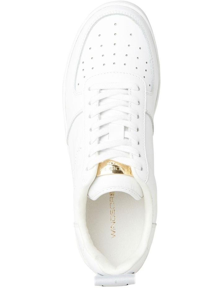 Racerr White Sneaker image 4