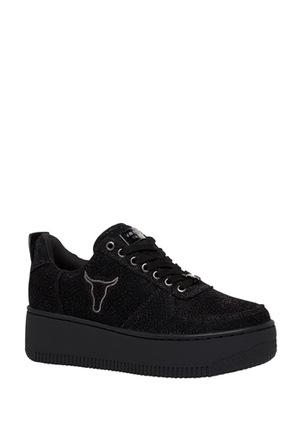 Windsor Smith - Racerr Black Lurex Sneaker
