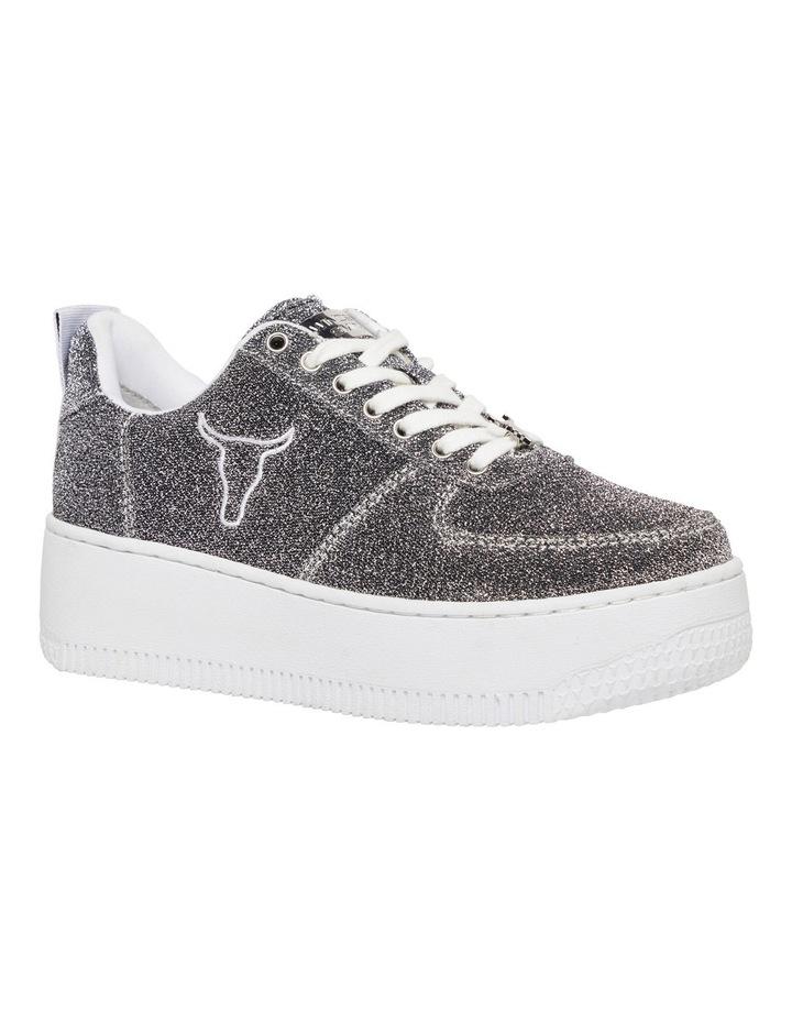 Racerr Silver Lurex Sneaker image 2