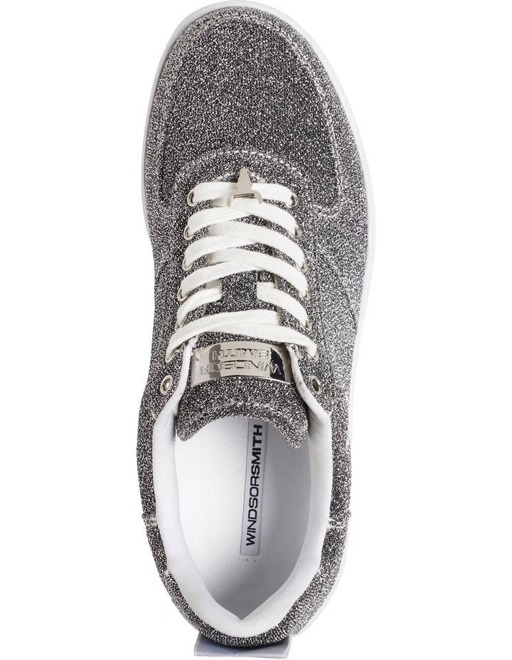 Racerr Silver Lurex Sneaker image 3