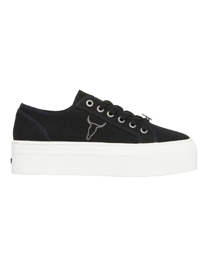Ruby Black Canvas Sneaker image 1