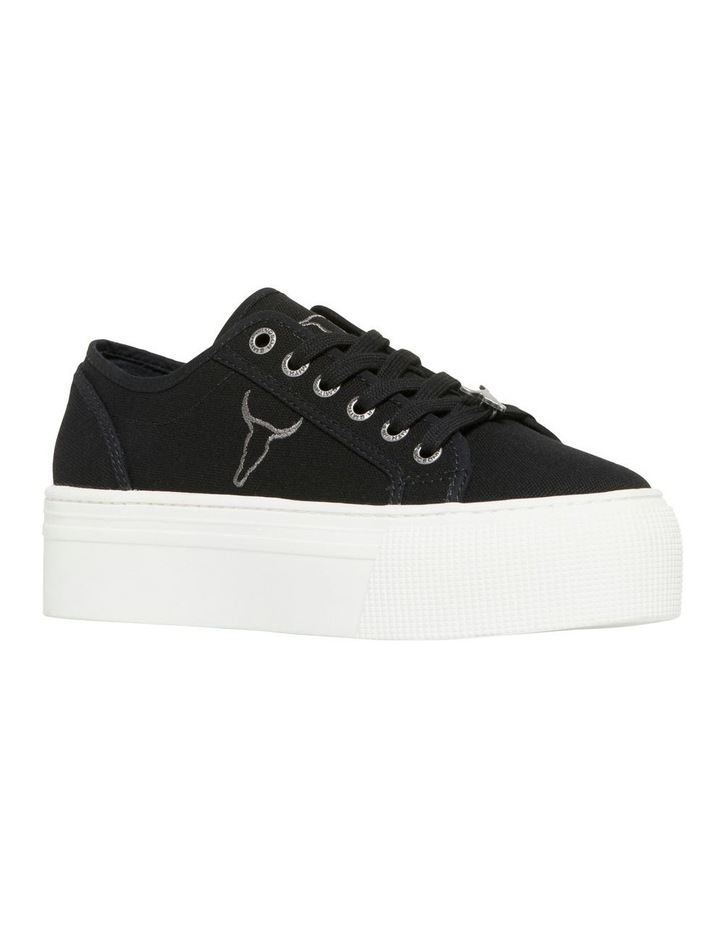 Ruby Black Canvas Sneaker image 2