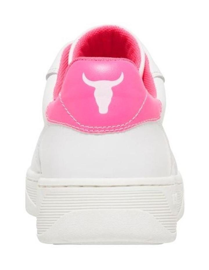 Universe-W White Neon Pink Sneaker image 3