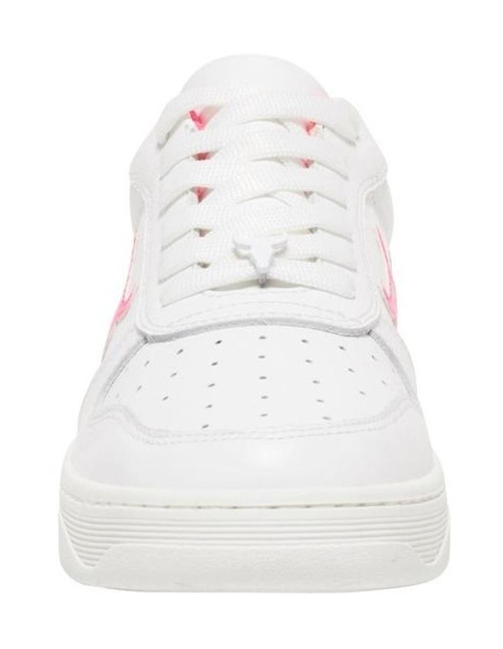 Universe-W White Neon Pink Sneaker image 4