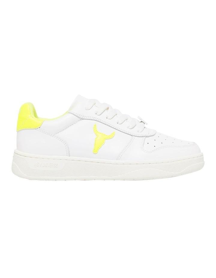 Universe-W White Neon Yellow Sneaker image 1