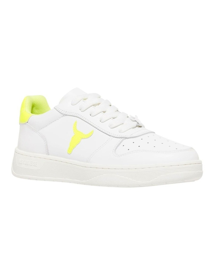 Universe-W White Neon Yellow Sneaker image 2