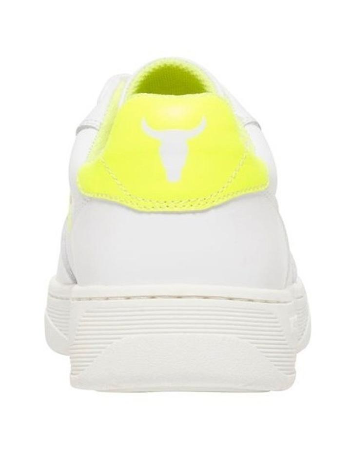 Universe-W White Neon Yellow Sneaker image 3
