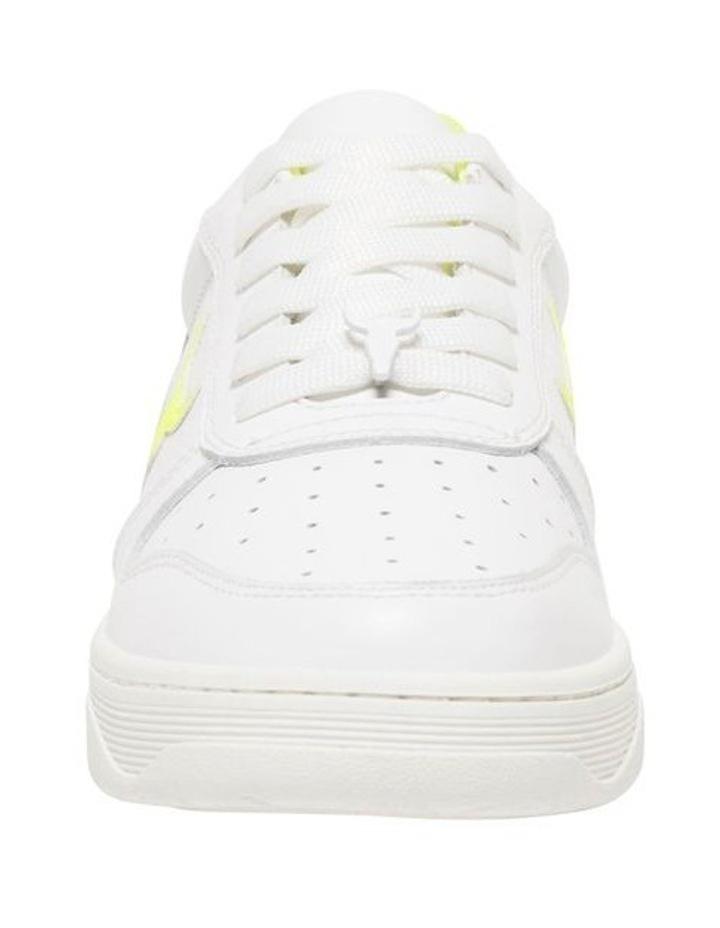 Universe-W White Neon Yellow Sneaker image 4